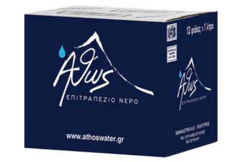 Nero Athos Waters Emfialotiki Epitrapezio Nero
